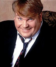Channeling Chris Farley, Part One