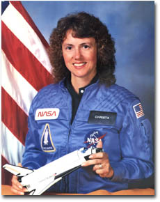 Channeling Christa McAuliffe, Part One