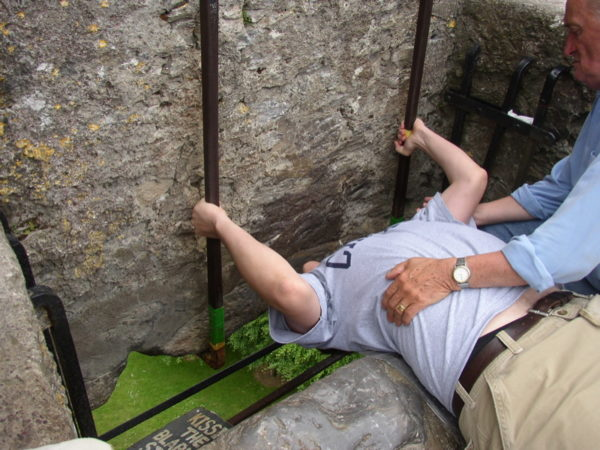 Kissing the Blarney Stone: Bring on the Purell