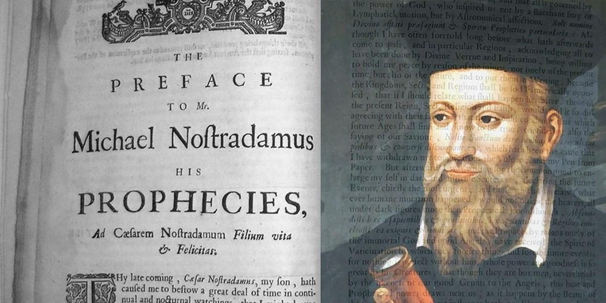 Resultado de imagem para Nostradamus