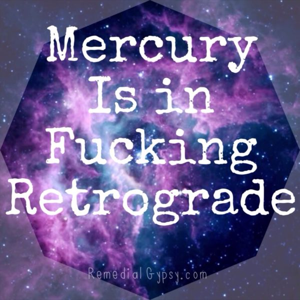 Mercury Retrograde and Fear vs. Intuition