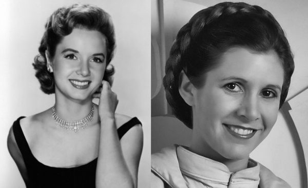 Channeling Carrie Fisher and Debbie Reynolds