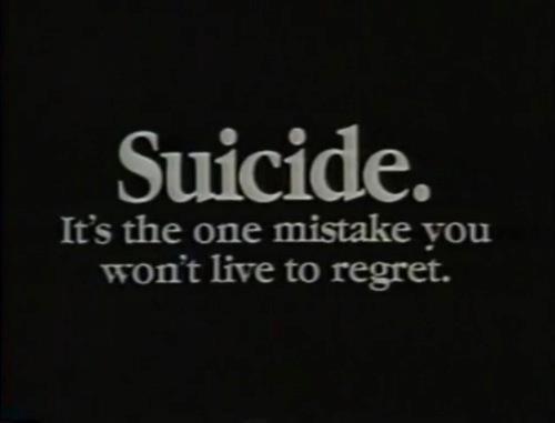 A Case Against Suicide