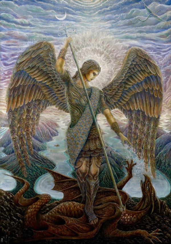 Erik, Kim and Archangel Michael: A Quantum Session