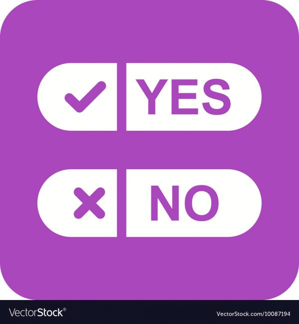 The First Yes or No Question Trial