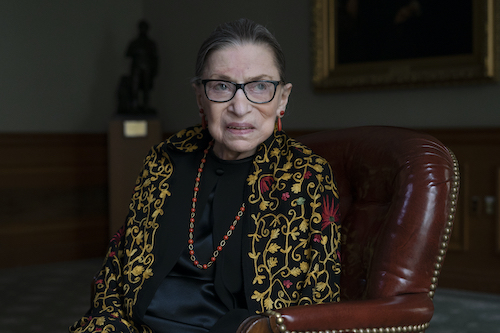 The Afterlife Interview with Ruth Bader Ginsberg